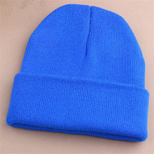 Fashion 5A Quality New! 22 Candy Color Aautumn and Winter Warm Hip hop Knit Caps for Men and Women Knitted Beanies Free Shipping(China (Mainland))