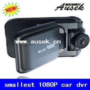 TRUE HD video camera recorder MINI 1080P car dvr 2 inches 4:3 TFT LCD Car black box FREE SHIPPING