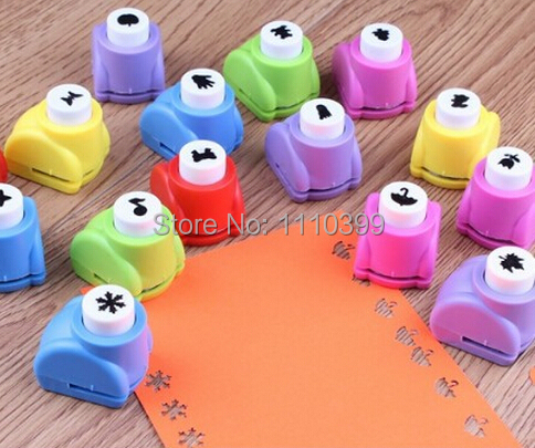 1 PC Kid Child Mini Printing Paper Hand Shaper Scrapbook Tags Cards Craft DIY Punch Cutter Tool 25 styles(China (Mainland))
