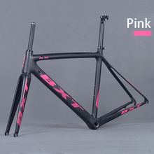 Buy Chinese carbon aero road frame Di2 Carbon Road Bike Frame 500/530/550mm Super Light Frame+Fork+headset carbon cyclocross frame for $399.00 in AliExpress store