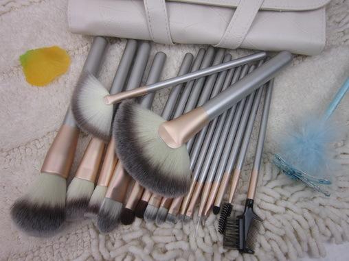 Pupa 18 cosmetic brush set professional brush set cosmetic tools full set make-up brush(China (Mainland))