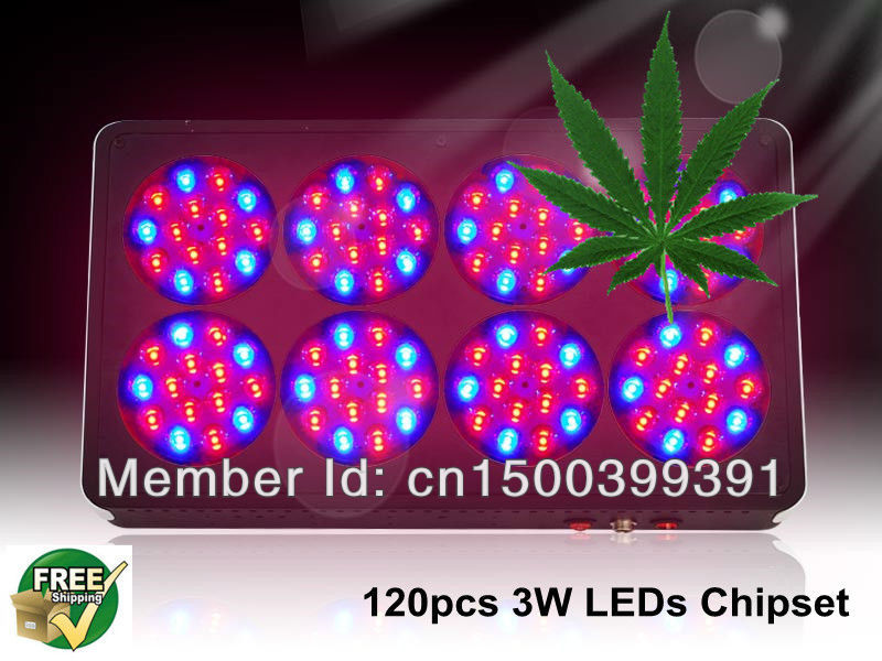 Apollo 8 bottom price 2pcs/lot 120*3w actual power 230W 3 years warranty with CE Rohs PSE certificate grow lights led modules(China (Mainland))