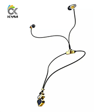 KYM-L100B Women Lady Fashion Dress Accessory Necklace Earphone Bluetooth Wireless Handset Auriculares Bluetooth Earphone Android(China (Mainland))