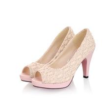 Fashion mesh fish head waterproof shoes, high heels ladies' shoes SHL5148(China (Mainland))
