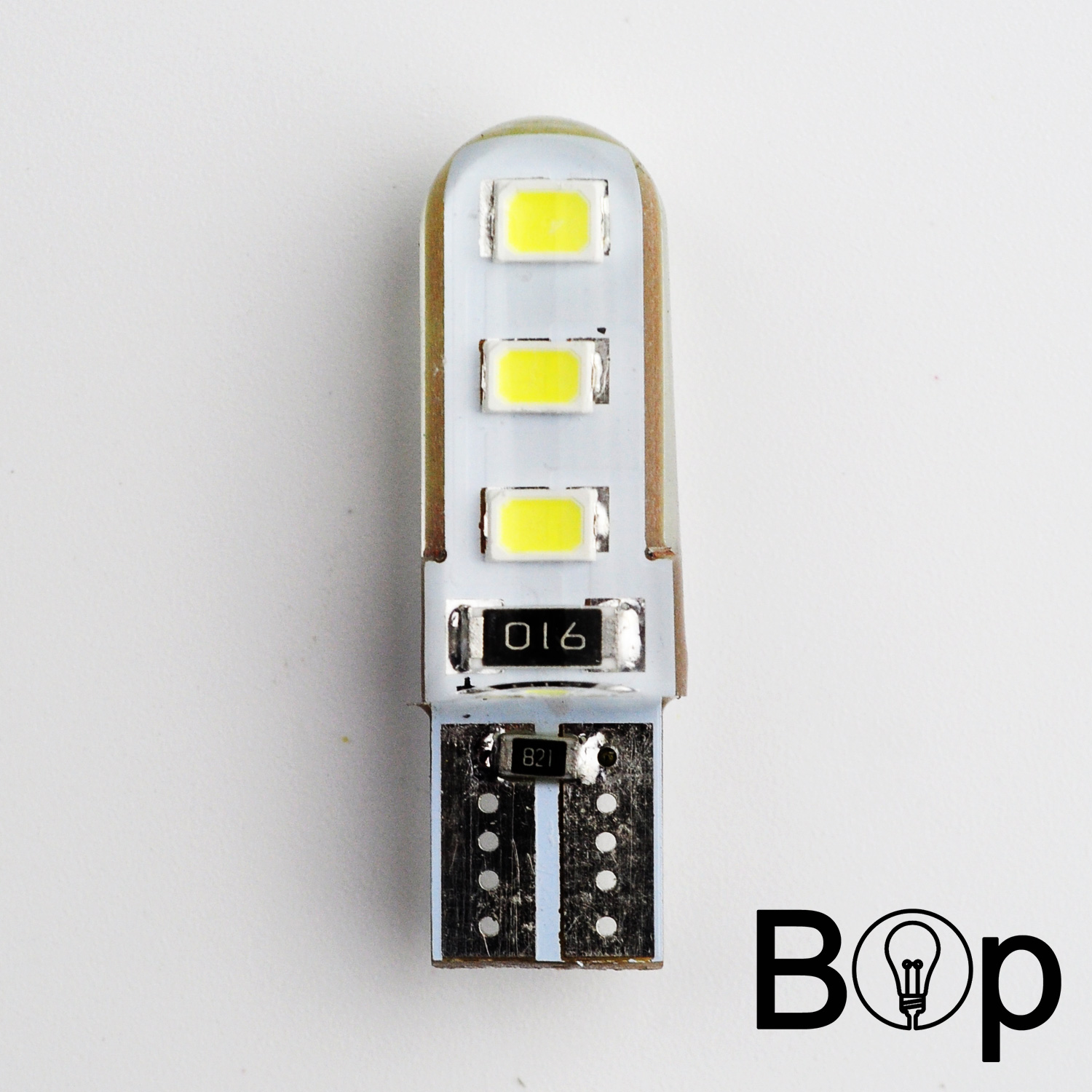 BOP New 3528 6smd COB 3W T10 Car LED Bulb W5W repuestos para luces led 194 192 158 168 921 CANBUS Parking Clearance Lamp 150MA(China (Mainland))