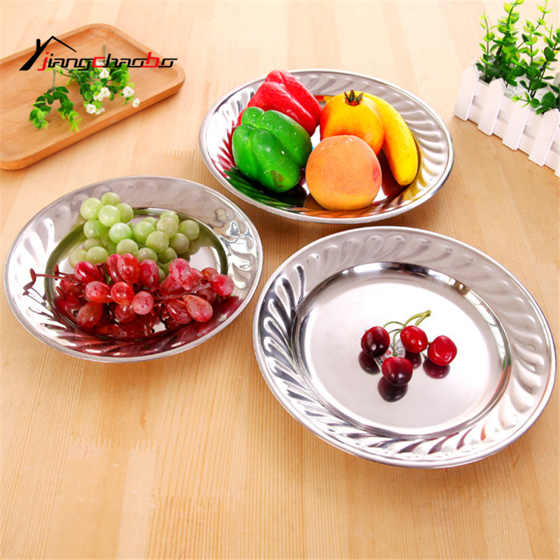 Stainless Steel Seasoning Dish Household Dishes Dish Plate Creative Kitchen Tableware Metal Plate Vinegar Dish Dip Plate(China (Mainland))