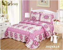 Jessy Hause Sonne blume Sammlungen Etc Land Star Floral Patchwork Quilt, könig, Multi Bestickt Kentucky Sterne Schlafzimmer Quilt(China (Mainland))
