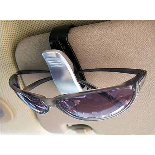 New Car Visor Glasses Sunglasses Card Ticket Holder Clip Black US AS #44168(China (Mainland))