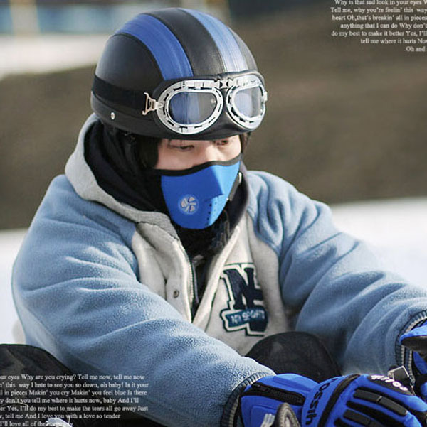 Thermal Neck Warmers Fleece Balaclavas Hat Headgear Winter Skiing Ear Windproof Face Mask Motorcycle Bicycle Scarf
