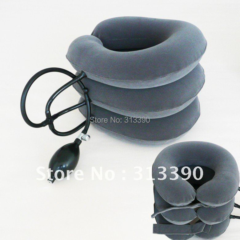 whole sales and retail neck traction fixer, cervical vertebra tractor, neck support, good quality neck traction fixer, free ship(China (Mainland))
