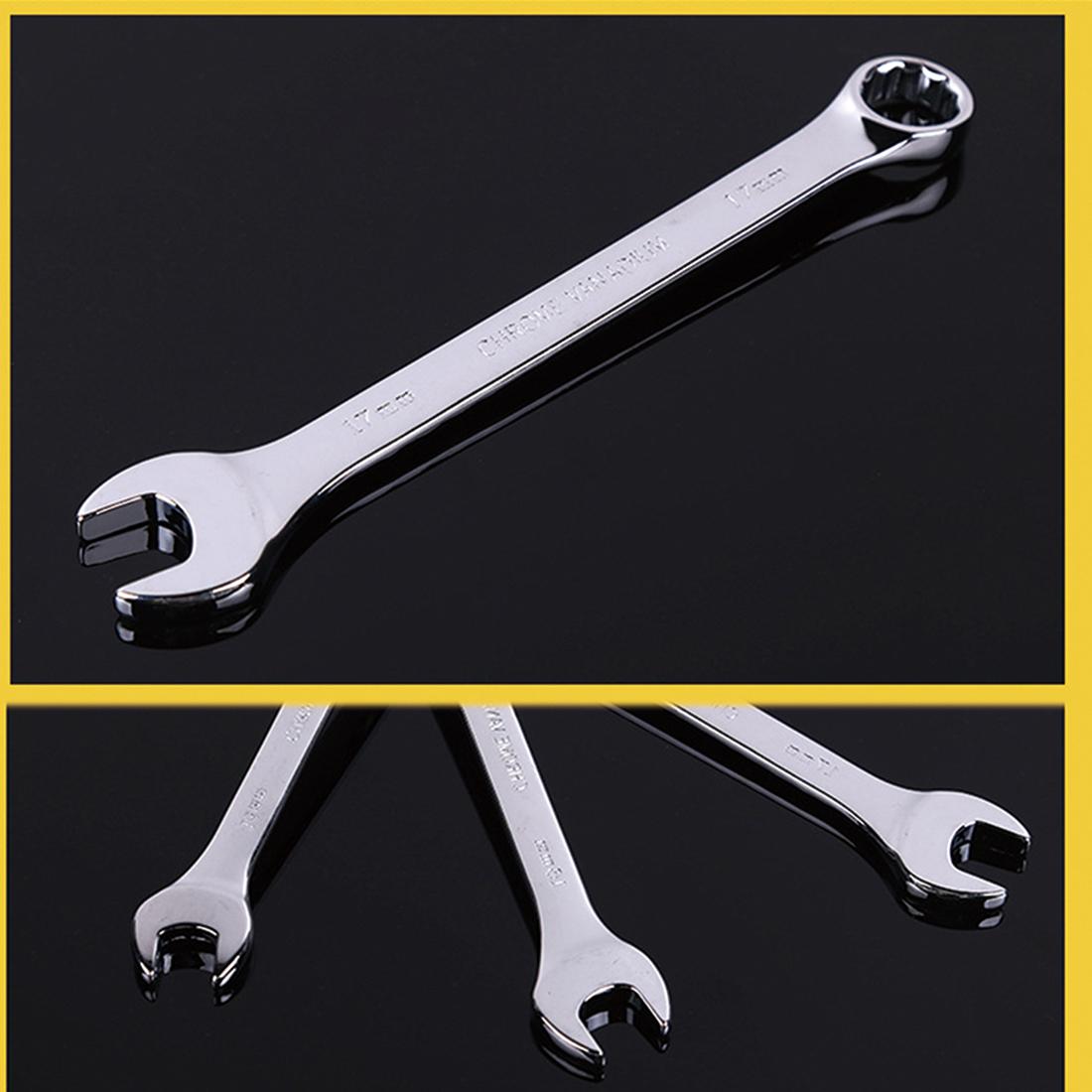 New Arrival 6mm-10mm Ratchet Spanner Combination Wrench Set of keys ratchet skate tool gear ring wrench ratchet set flexible