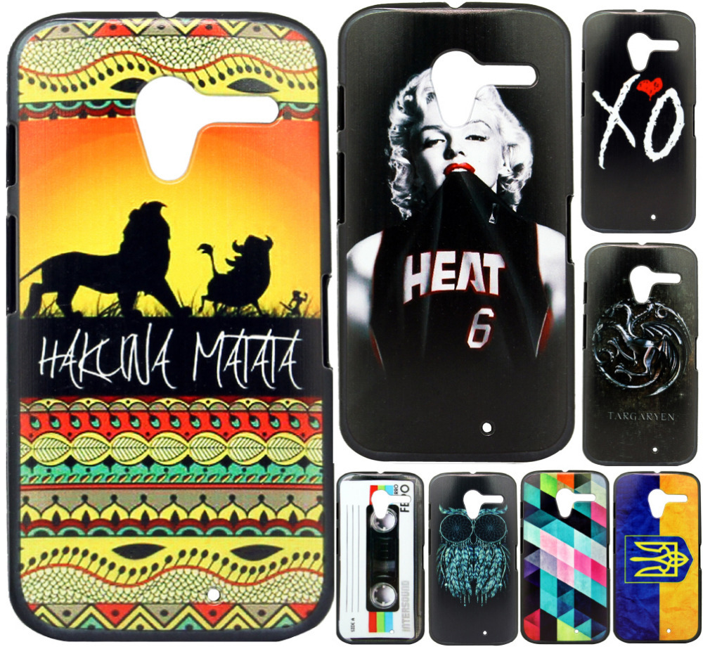 Motorola Moto X XT1055 XT1058 XT1060 Case New Fashion Luxury Style Design Hard Plastic Mobile Protective Phone Cover - ShoppingCenter store
