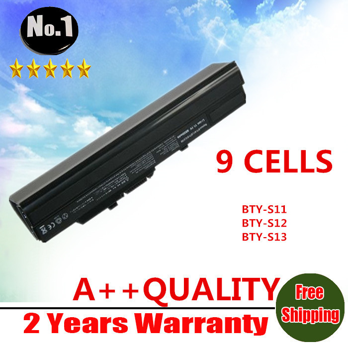 WHOLESALE New 9CELLS laptop battery for MSI M310 PROLINE U100 ADVENT 4211 AVERATEC Netbook AHTEC LUG N011 CASPER Free shipping(China (Mainland))