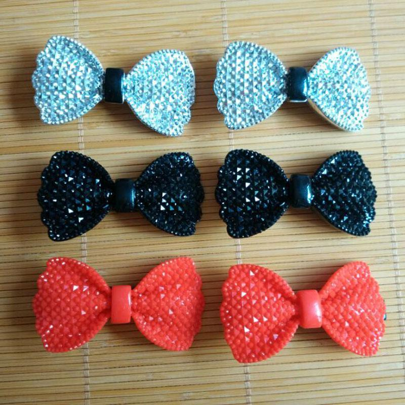 6pcs Lot Chic Mini Small Colored Bows Hair Clip Hair Pin Kids Girls Women Barrette(China (Mainland))