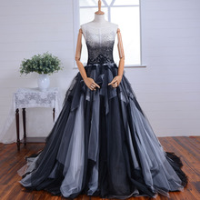 HF-014 Free shipping High quality Fashion brand long evening dress 2016 new arrival formal dresses Real photo(China (Mainland))