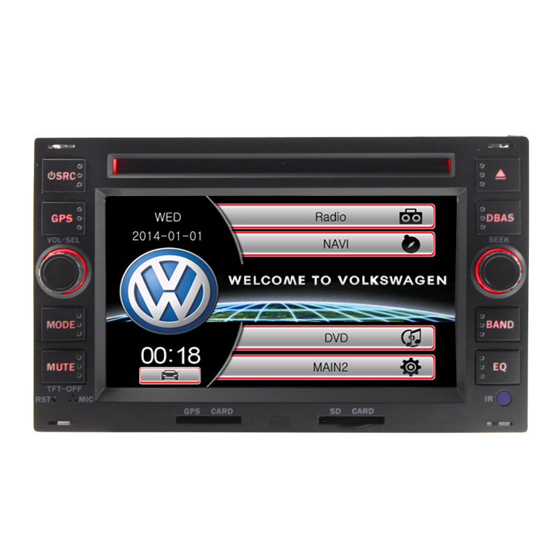 2 din 7' touch screen VW Passat B5 car dvd player with GPS ,steering wheel control,stereo,radio,usb,ipod,BT(China (Mainland))