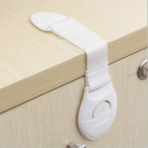 Cabinet drawer cupboard refrigerator toilet door closet plastic lock baby care child safety product high quality(China (Mainland))