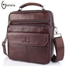 Buy ZZNICK 2017 New Men Genuine Leather Messenger Bag Male Cowhide Leather Cross body Shoulder Bag Vintage Men Bags Handbag for $26.64 in AliExpress store