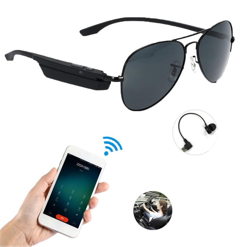 K3 Bluetooth Headset Sunglasses Polarized Glasses Wireless BT4.1 EDR Music Headp