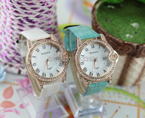 Здесь можно купить  Fashion woman watches 2014 with crystals women dress watches  Часы