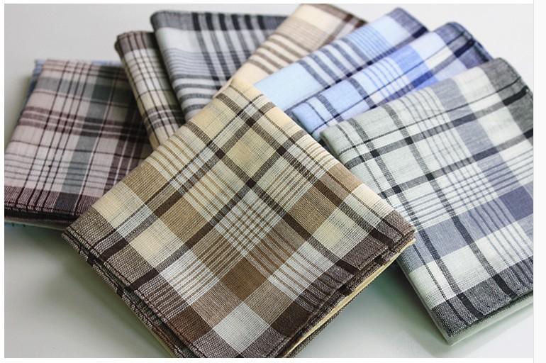 100pcs/lots 40*40cm Cheap mens 100% cotton handkerchief hanky pocket squares super value wholesale free shipping(China (Mainland))
