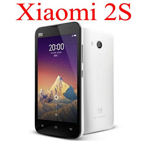"Original Xiaomi mi2S 4.3"" IPS 1280x720 13MP Quad Core Android 4.1 2GB RAM 32GB ROM 3G m2s 2s mi2 M2 Mobile Phone Free shipping(China (Mainland))"