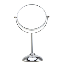 6 Inch 10x Magnification Circular Makeup Mirror Dual 2Sided Round Shape Cosmetic Mirror Stand Mirror for Make up(China (Mainland))