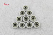10 pcs/lot Delta 3d printer Plastic pulley 21.5mm OD*5mm ID 10 pcs/set