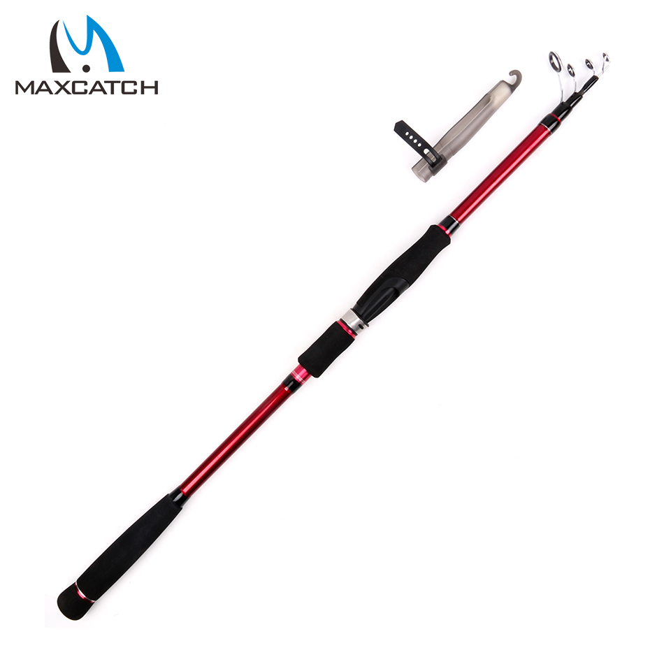 Buy maxcatch telescoping spinning rod 2 for Best telescoping fishing rod