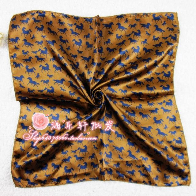 Spring new arrival faux silk small silk scarf small facecloth scarf C52(China (Mainland))