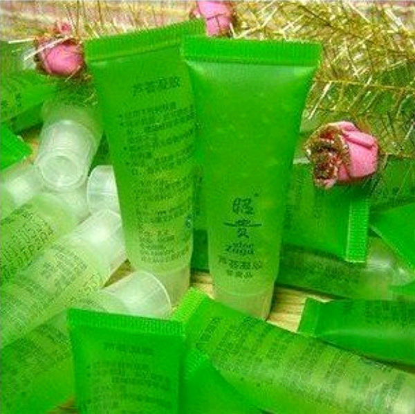 3pcs  Aloe vera gel 13g natural face cream Acne pearl cream facial cleaner bb cream<br><br>Aliexpress