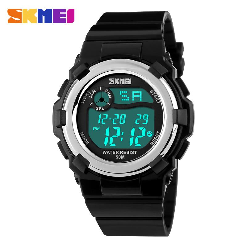 2016 Outdoor Sports Children Kids Watches Boy Girls LED Digital Alarm Stopwatch Waterproof Wristwatch Childrens Dress Watch<br><br>Aliexpress