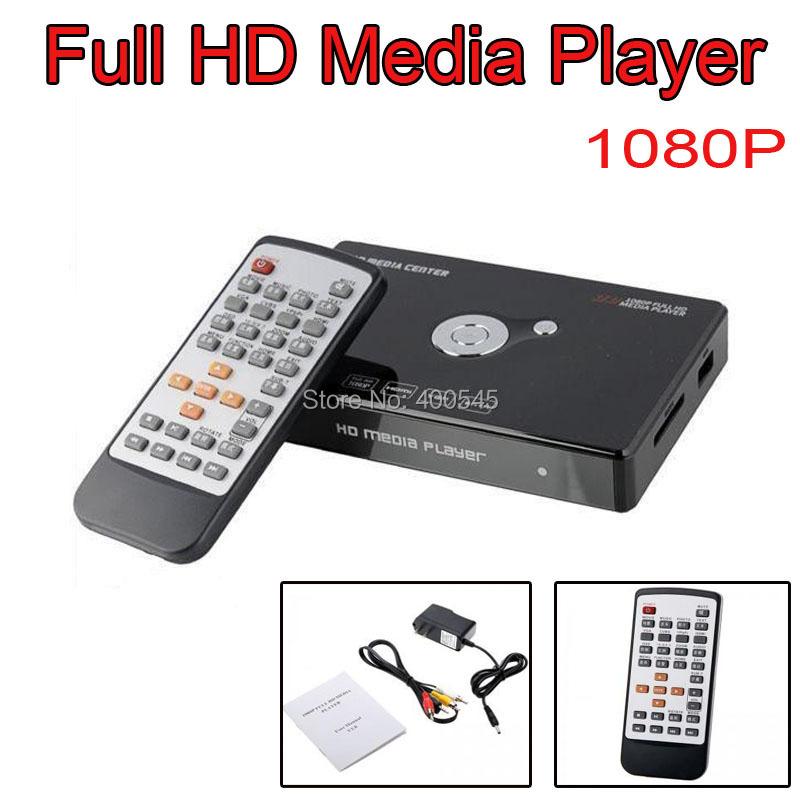 5pcs Portable Full HD Multi-Media Player 1080P HD Player Output HDMI /VGA/YPbPr/CVBS/Support FLV H.264/ACS/DTS/MP3(China (Mainland))