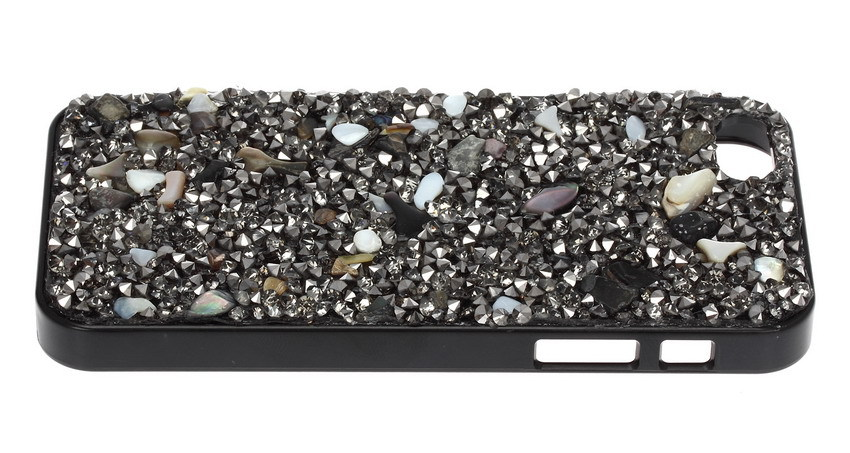 Buy One Get One HD Screen Protective Film Free New Natural Design Unisex Phone Case Sea Shells Top Quality Crystals Mobile Case(China (Mainland))