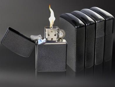 2pcs High Quality cigarette blace color/ metal oil /kerosene lighter / free shipping /wholesale(China (Mainland))