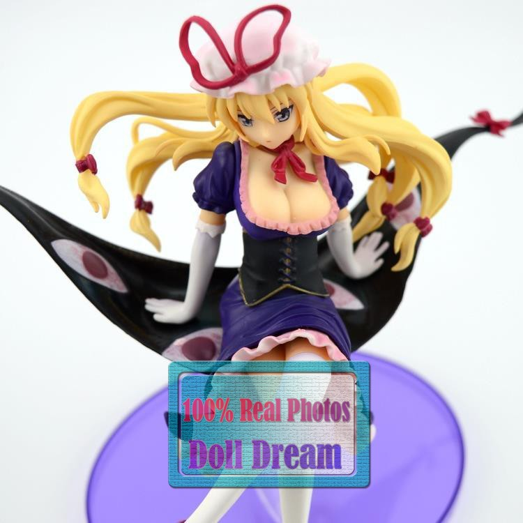 22CM Japanese anime determine Touhou Challenge Yakumo Yukari Horny PVC Motion Determine Collectible Mannequin Toy