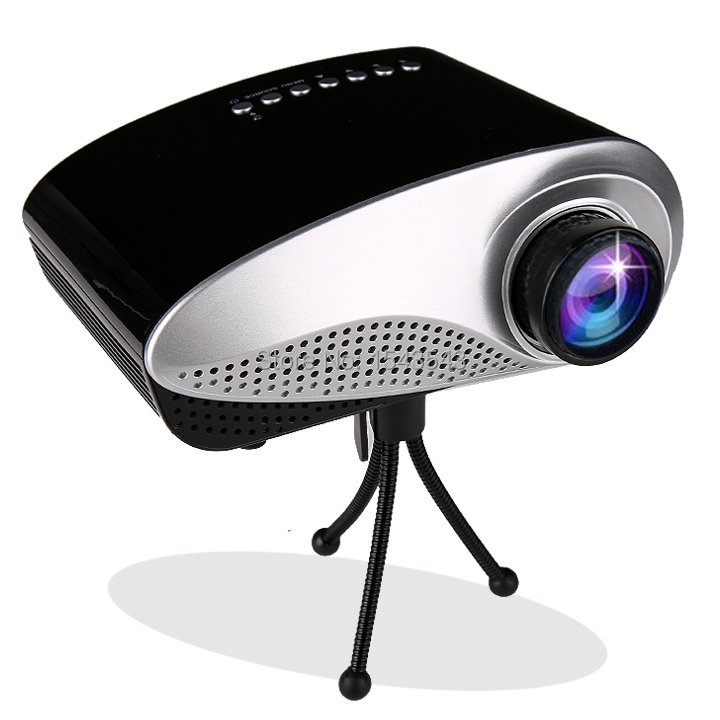 Best price 2015 new arrival hd home theater led 3d mini for Best small hd projector