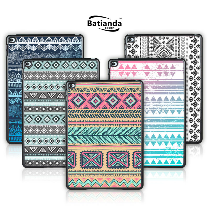 Batianda For Apple iPad air Case Tribal Stripes Pattern Tablet Cover For iPad 5 Hard Back Shell Screen Film Gift(China (Mainland))