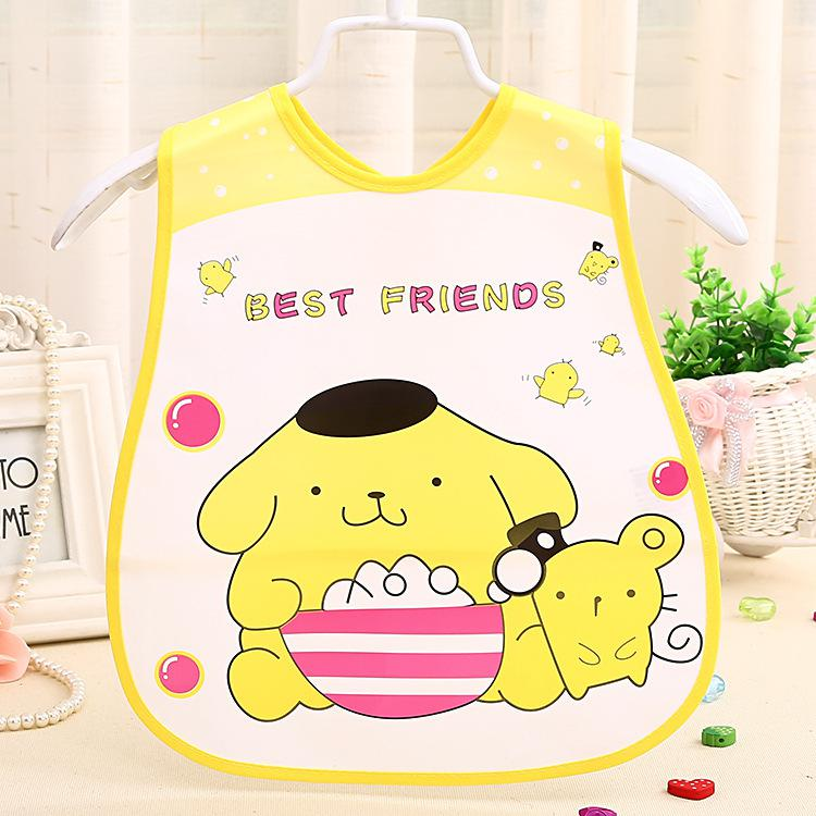 2016 New Baby Bibs Waterproof Cartoon Newborn Children Bibs Infant Burp Cloths Clothing Towel Kids Clothing Accessories