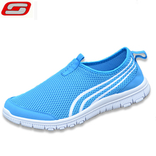 2016 brand mesh breathable Summer shoes men's loafers, casual ultralight walking flats Man zapatillas trainers shoes size 40-44