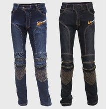 Newest Motorcycle Riding tribe jeans male ride motorcycle pants off-road pants automobile race motorcycle pants have protect