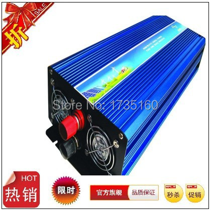 2500w inverter pure sine wave max 2500w power DC 12V 24V 48V 230V to AC100V-240V 50Hz 60Hz for solar wind home use<br><br>Aliexpress