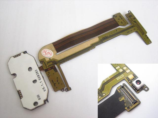 Replacement Button Keypad Flex Cable Ribbon with Camera for Nokia N95 4GB(Hong Kong)