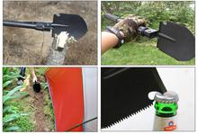Motorcycle Equipment Survival Kit Shovel Tools Camp Kamp Acampamento Sobrevivencia Ferramentas Emergency Survival Gear for Tent