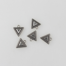 Buy 2017 New 20pcs/lot 16*15MM Retro Silver Zinc Alloy Triangle Charms Pendants DIY Jewelry Bracelet Accessories for $2.07 in AliExpress store