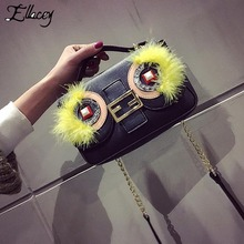 Buy New Women Owl Big Eyes Flap Bags Ladies Small Crossbody Shoulder Bags Designer High Fashion Handbag China Messenger Bag for $27.03 in AliExpress store