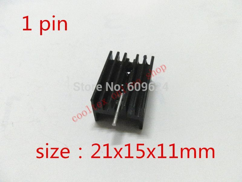 1 21x15x11mm TO-220 TO220 IC heatsink heat sink Triode, integrated circuit - cooltex online shop store
