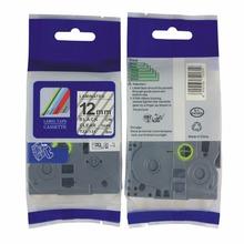 Free shipping Label tape TZ-231 TZ-431,TZ-531,TZ131,TZ 631,12mm TZ label tape for p touch label ribbons