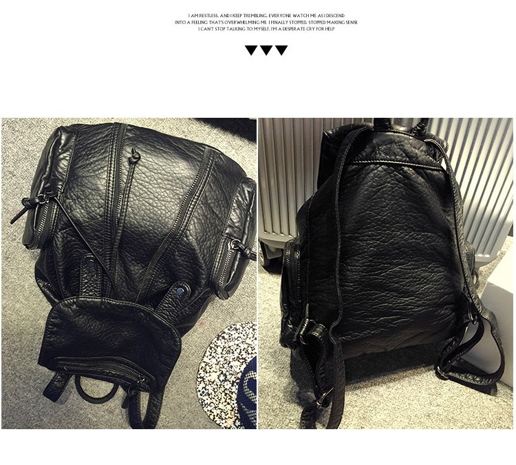 2015 New Designer Brand Fashion Ladies Vintage Woman Backpacks Travel