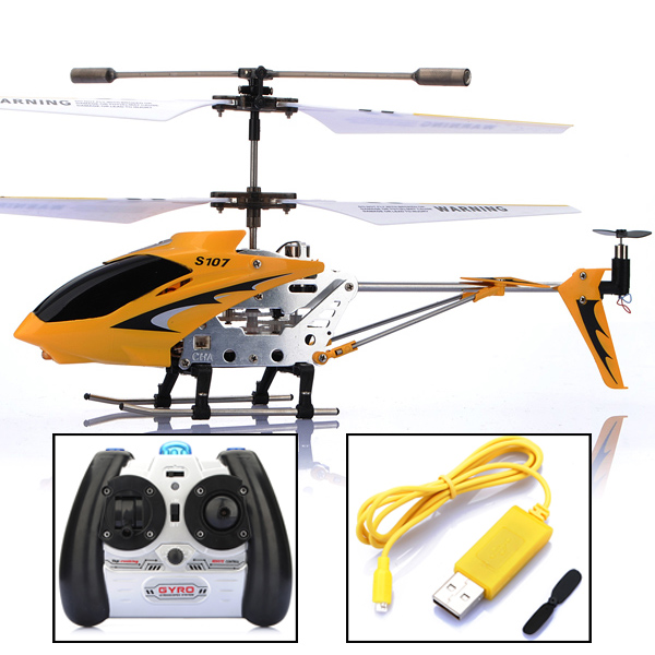 Hot sale high quality Genuine Syma S107 S107G 3CH Infrared remote control RC Helicopter GYRO with transmitter(China (Mainland))